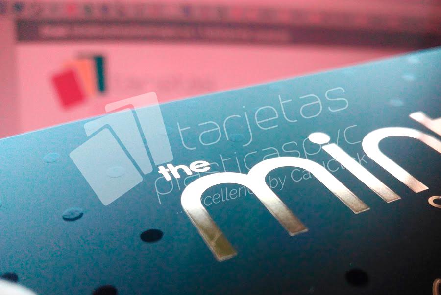 tarjetas plásticas uv hot stamping