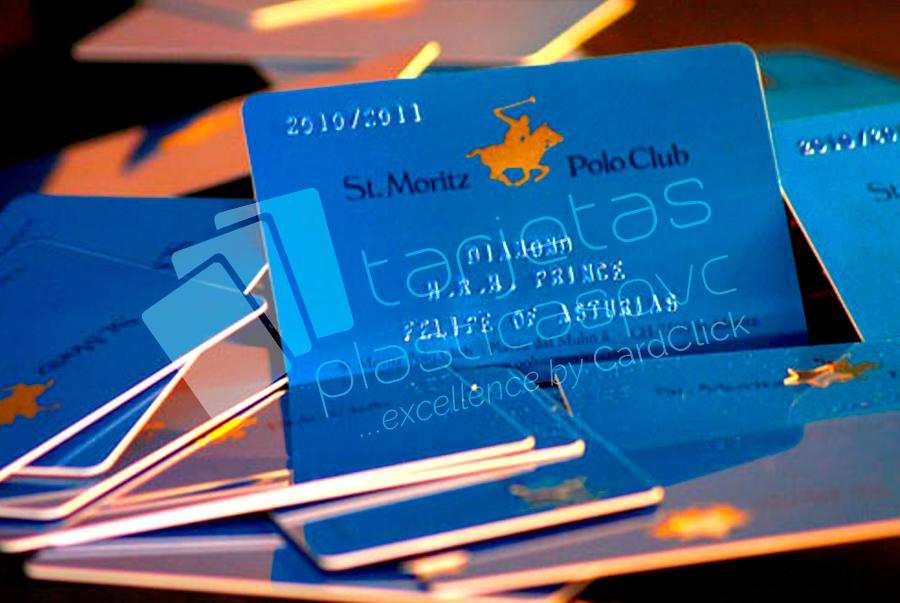 tarjetas plásticas laminado brillo