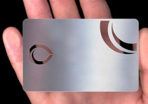 tarjetas metalicas