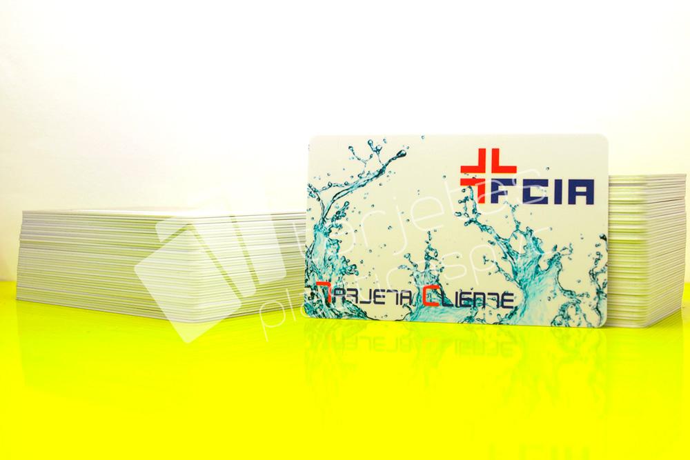 Tarjeta pvc cliente farmacia