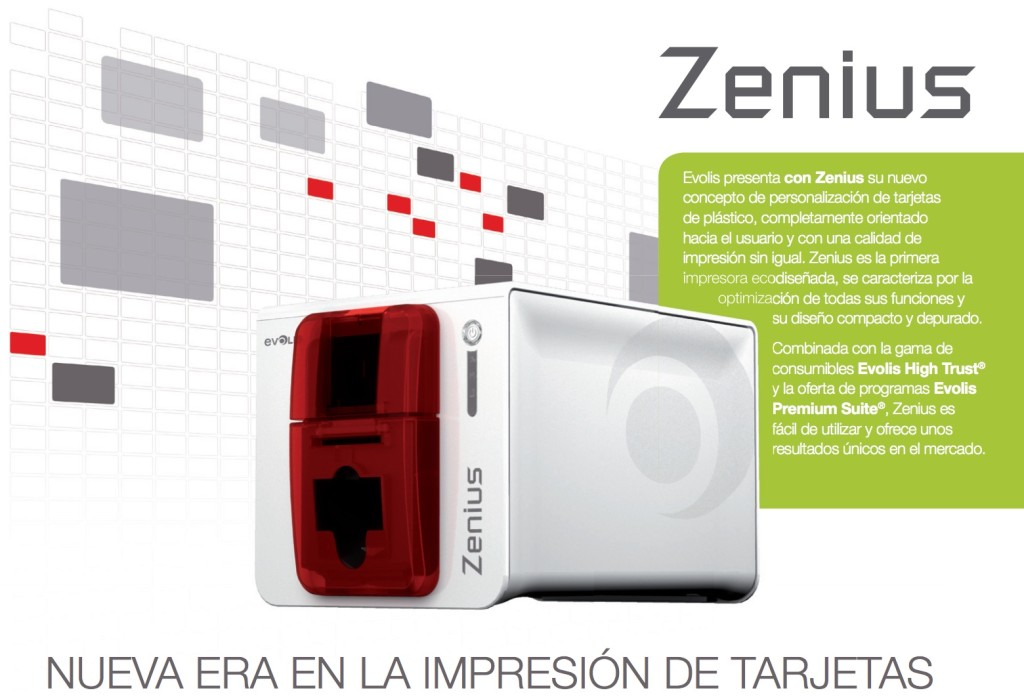 Impresora de tarjetas plásticas Zenius