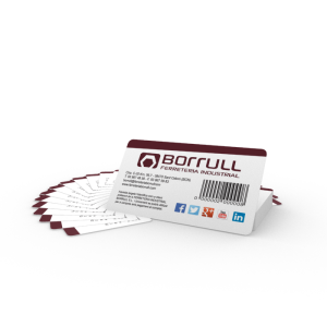 Tarjeta plástica Borrull
