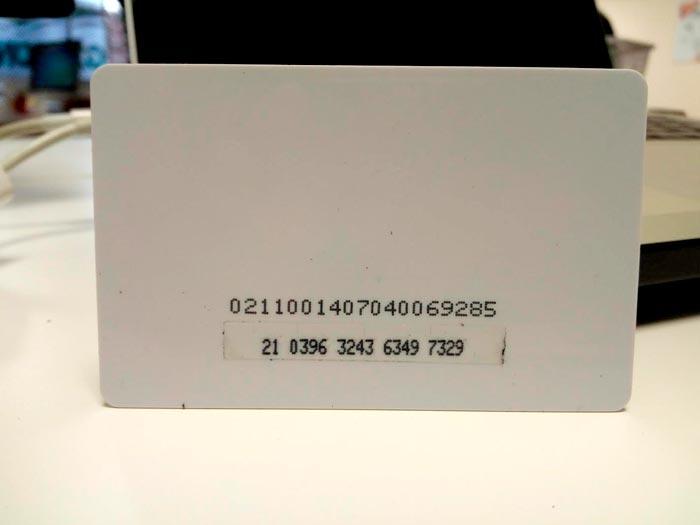 tarjetas plásticas raspa